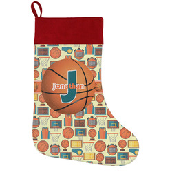 Basketball Holiday Stocking w/ Name or Text