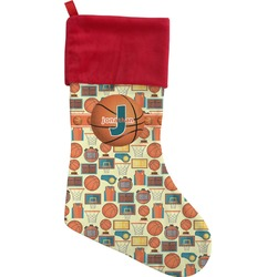 Basketball Christmas Stocking (Personalized)