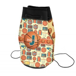 Basketball Neoprene Drawstring Backpack (Personalized)