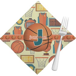 Basketball Napkins (Set of 4) (Personalized)