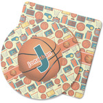 Basketball Rubber Backed Coaster (Personalized)