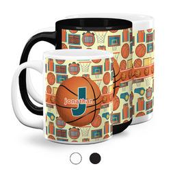 Basketball Coffee Mugs (Personalized)