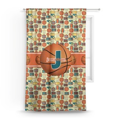 Basketball Curtain (Personalized)