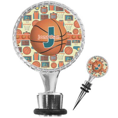 Basketball Wine Bottle Stopper (Personalized)