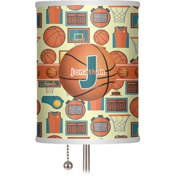 "Basketball 7"" Drum Lamp Shade (Personalized)"