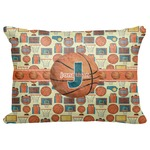 "Basketball Decorative Baby Pillowcase - 16""x12"" (Personalized)"