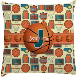 Basketball Decorative Pillow Case (Personalized)