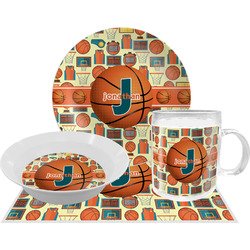 Basketball Dinner Set - 4 Pc (Personalized)