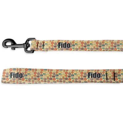Basketball Deluxe Dog Leash (Personalized)