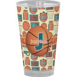 Basketball Drinking / Pint Glass (Personalized)