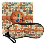 Basketball Eyeglass Case & Cloth (Personalized)
