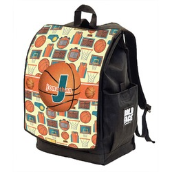 Basketball Backpack w/ Front Flap  (Personalized)