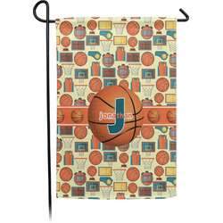 Basketball Garden Flag - Single or Double Sided (Personalized)