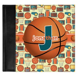 Basketball Genuine Leather Baby Memory Book (Personalized)