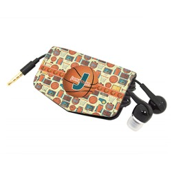 Basketball Genuine Leather Cord Wrap (Personalized)