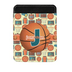 Basketball Genuine Leather Money Clip (Personalized)