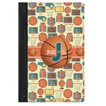 Basketball Genuine Leather Passport Cover (Personalized)