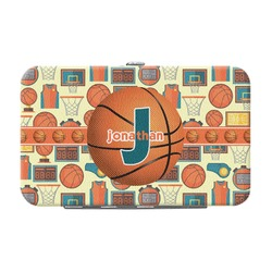 Basketball Genuine Leather Small Framed Wallet (Personalized)