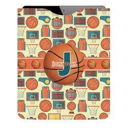 Basketball Genuine Leather iPad Sleeve (Personalized)