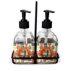 Basketball Soap/Lotion Dispensers (Glass) (Personalized)