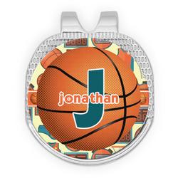 Basketball Golf Ball Marker - Hat Clip