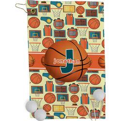 Basketball Golf Towel - Full Print (Personalized)