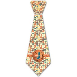 Basketball Iron On Tie (Personalized)