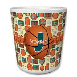 Basketball Plastic Tumbler 6oz (Personalized)