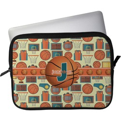 "Basketball Laptop Sleeve / Case - 15"" (Personalized)"