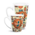 Basketball Latte Mug (Personalized)