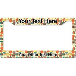Basketball License Plate Frame (Personalized)