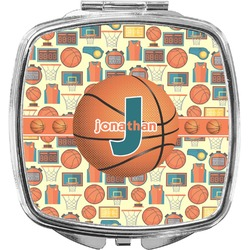 Basketball Compact Makeup Mirror (Personalized)