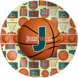Basketball Melamine Plate (Personalized)