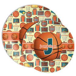 Basketball Melamine Plate (Personalized)