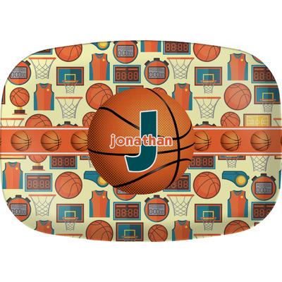 Basketball Melamine Platter (Personalized)