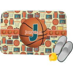 Basketball Memory Foam Bath Mat (Personalized)