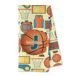 Basketball Microfiber Kitchen Towel (Personalized)