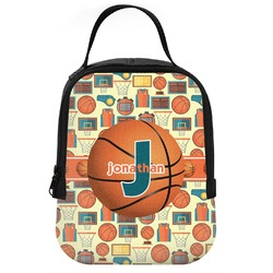 Basketball Neoprene Lunch Tote (Personalized)