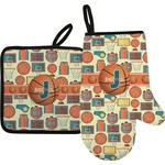 Basketball Oven Mitt & Pot Holder (Personalized)