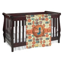 Basketball Baby Blanket (Personalized)