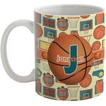 Basketball Coffee Mug (Personalized)