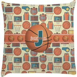 Basketball Euro Sham Pillow Case (Personalized)