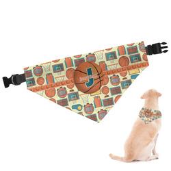 Basketball Dog Bandana (Personalized)