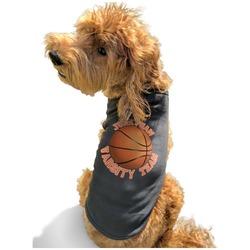 Basketball Black Pet Shirt - XL (Personalized)