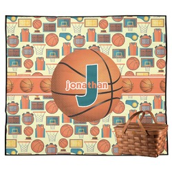 Basketball Outdoor Picnic Blanket (Personalized)