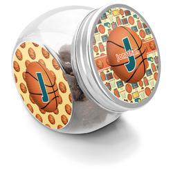 Basketball Puppy Treat Jar (Personalized)