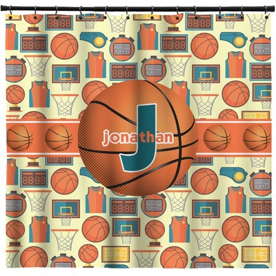 Basketball Shower Curtain (Personalized)