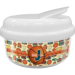 Basketball Snack Container (Personalized)