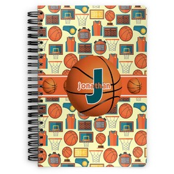 Basketball Spiral Bound Notebook (Personalized)