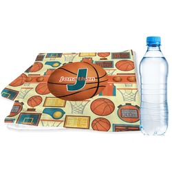 Basketball Sports & Fitness Towel (Personalized)
